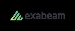 Exabeam logo - white